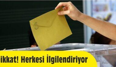 31 Mart Yerel Seçimlerine Dair Bilmeniz Gerekenler…