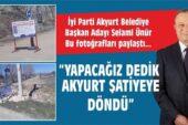 Ünür: Son Bir Haftada Akyurt Şantiyeye Döndü