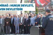 Polis Teşkilatı'nın 174. Yılı Akyurt'ta Kutlandı