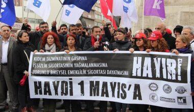 Ankara'da 1 Mayıs mitingi Tandoğan'da