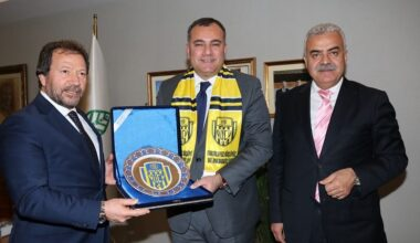 Ankaragücü'nden Taşdelen'e Kutlama