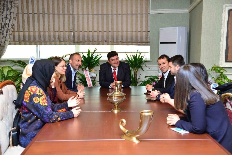 Avukatlardan Serhat Oğuz'a Ziyaret