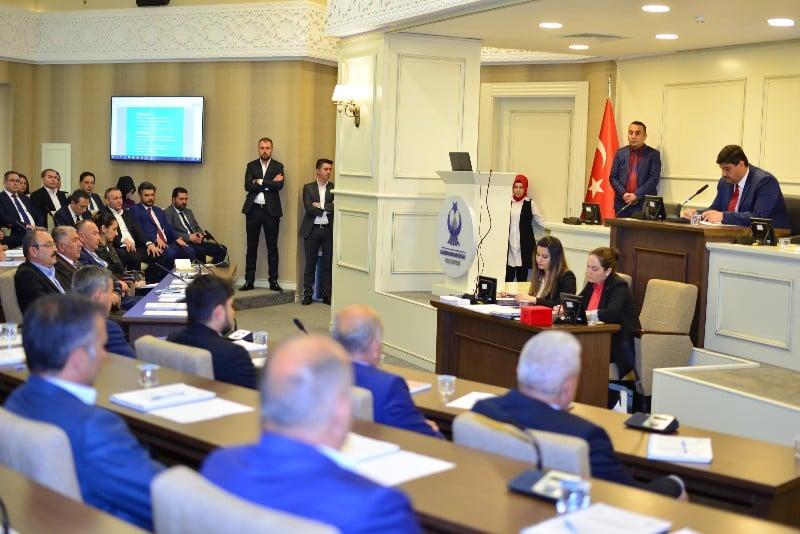 Kahramankazan Belediye Meclisi ilk toplantısını yaptı