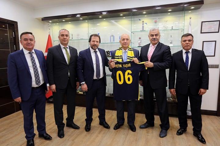Ankaragücü'nden Fethi Yaşar'a ziyaret