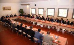 Başkan Balcı yeni seçilen meclis üyeleri ile bir araya geldi