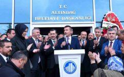 Başkan Asım Balcı göreve başladı