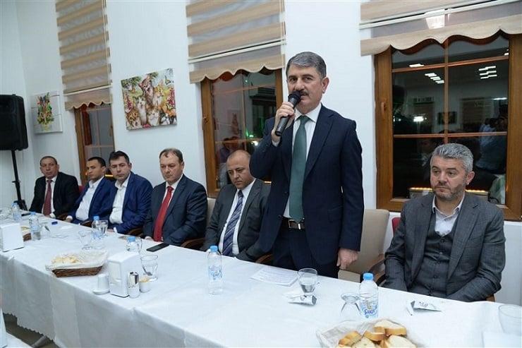 Başkan Yılmaz, emniyet teşkilatını yemekte ağırladı