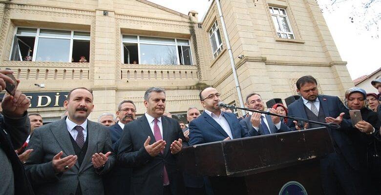 Çubuk Belediye Başkanı Demirbaş, görevine başladı
