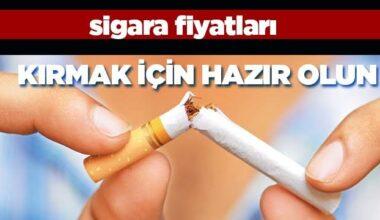 Sigaraya zam… İşte yeni fiyatlar…