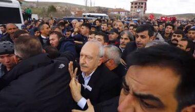 Çubuk'ta Şehit Cenazesinde Kılıçdaroğlu'na Saldırı