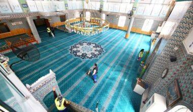 Keçiören'de Camiler Ramazan'a Hazırlanıyor