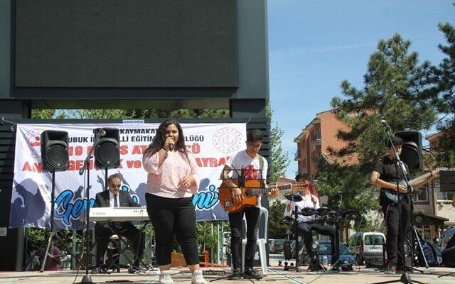 Çubuk'ta Gençlik Haftası Etkinlikleri
