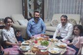 Ertuğrul Çetin, İftarda Vatandaşların Evlerine Konuk Oluyor