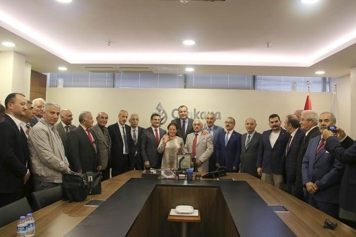 KARS-FED Yönetimi Taşdelen'i Ziyaret Etti