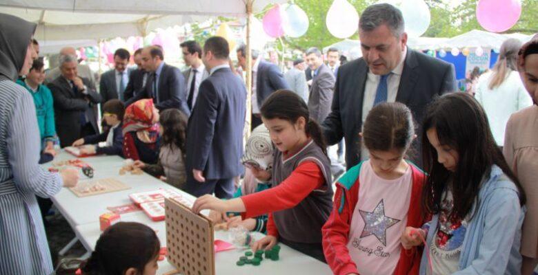 Çubuk'ta Geleneksel Çocuk Oyunları Şenliği