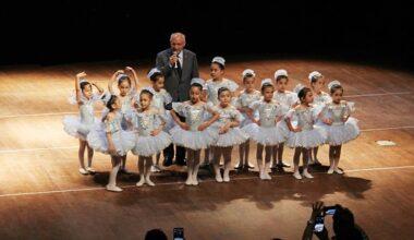 Yenimahalle'de minik balerinler yetişiyor