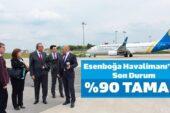 Esenboğa Havalimanı'nda Son Durum