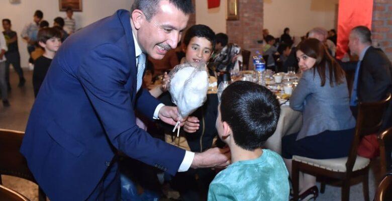 Başkan Balcı Yetim Çocuklarla