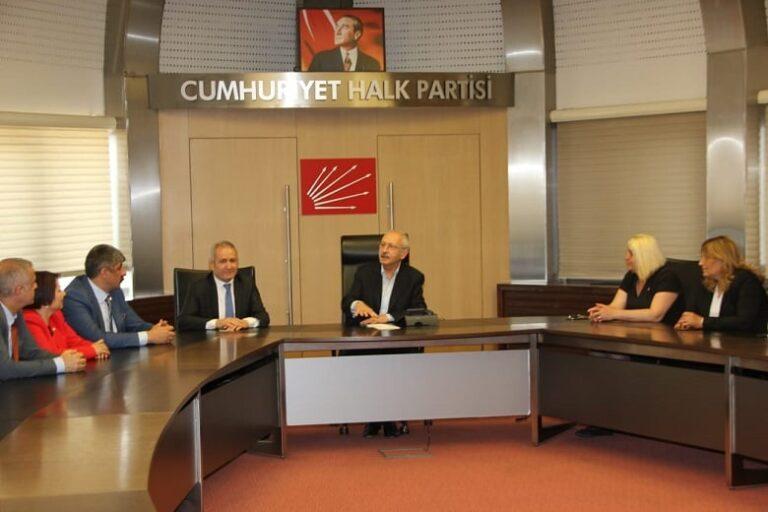 Güvener'den Kılıçdaroğlu'na Ziyaret