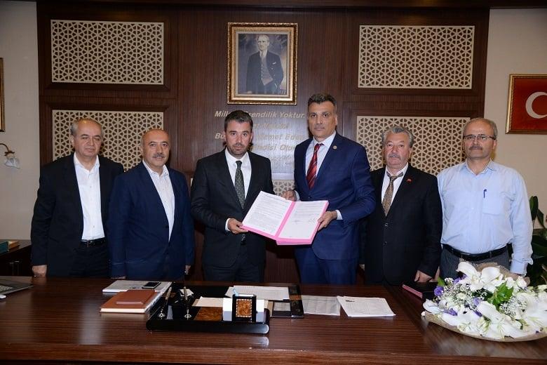 Pursaklar Belediyesi Bem-Bir-Sen İle Sözleşme İmzaladı