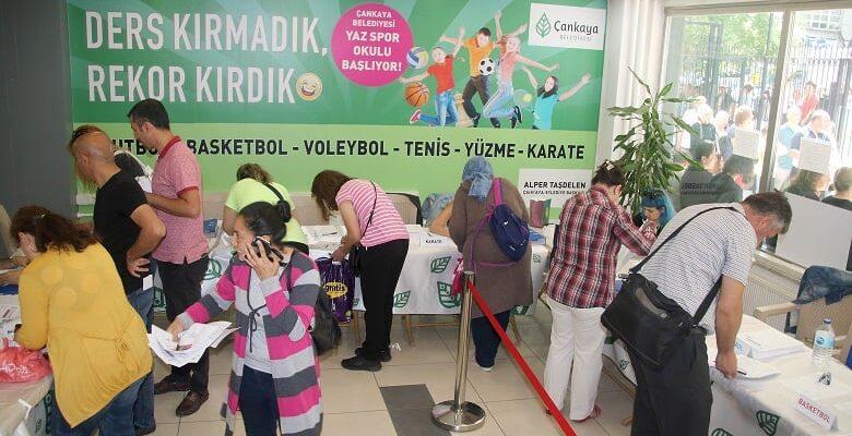 Yaz Spor Okullarına İlk Günde Yüzlerce Başvuru