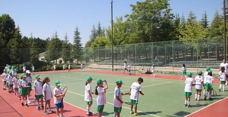 Yaz Spor Okullarında İlk Ders Başladı
