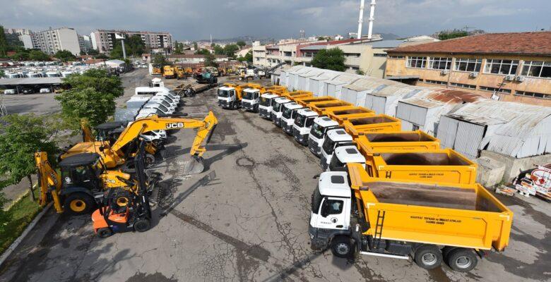 Altındağ Belediyesi, Araç Filosunu Genişletti