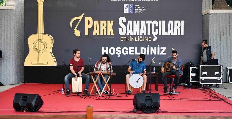 Başkent Parklarında Ücretsiz Konserler