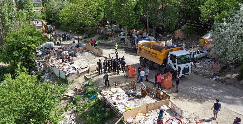 Ankara Zabıtası'ndan Çöp ve Atık Uyarısı