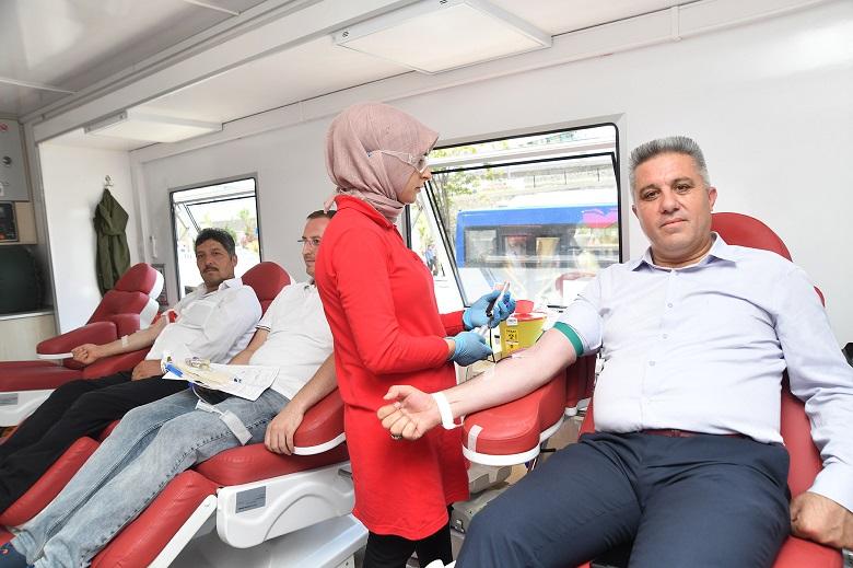 Mamak Belediyesi'nden Kan Desteği