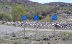 Baraj Havzalarında Tabelalı Uyarılara Dikkat