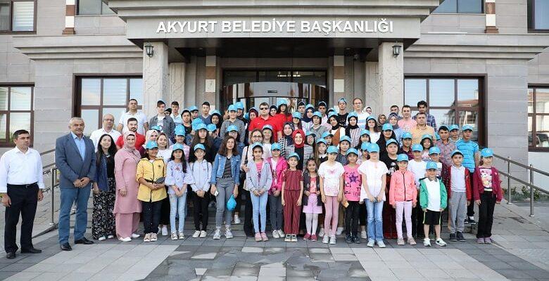 Akyurtlu Öğrenciler Çanakkale Yolcusu