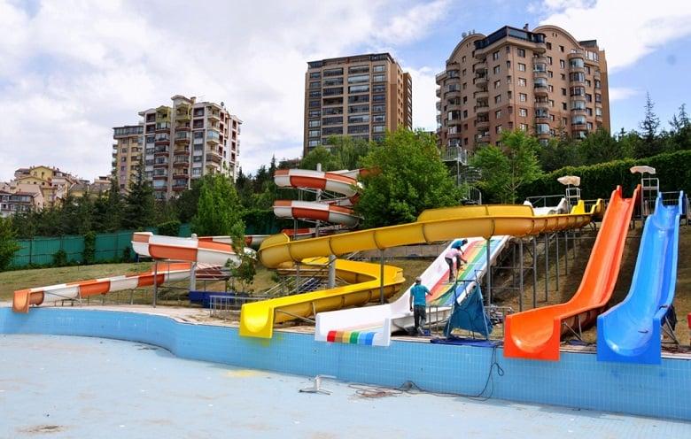 Kalaba Aquapark Yenileniyor