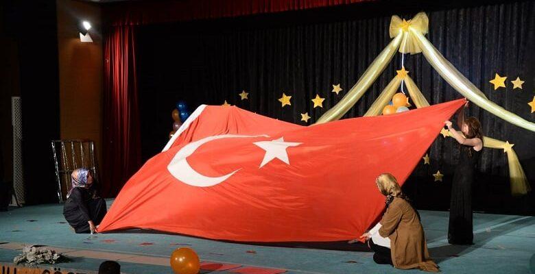 Pursaklar'da Minik Öğrencilerin Yıl Sonu Heyecanı