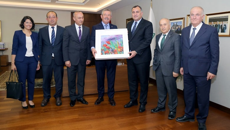 Taşdelen Anadolu OSB Yönetimi İle Bir Araya Geldi