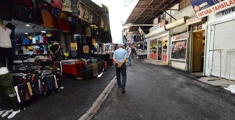 Çerkez sokak yenilendi