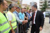 Başkan Çetin Belediye Personeli İle Bayramlaştı