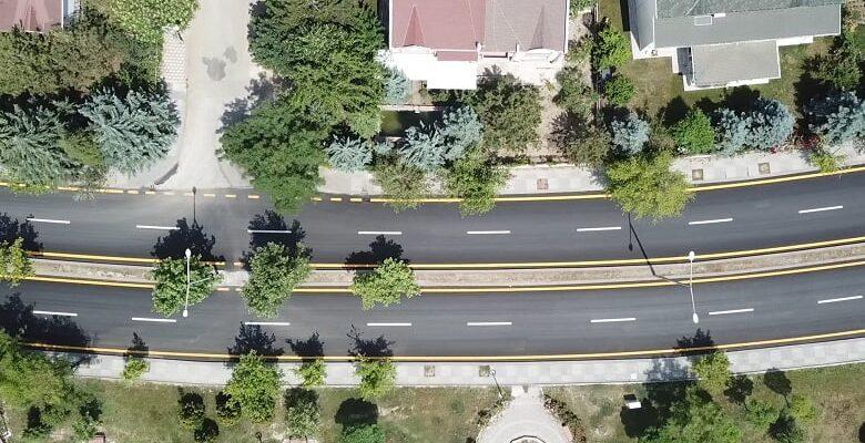 Büyükşehir Belediyesi'nden Etimesgut'ta Yol Çalışması