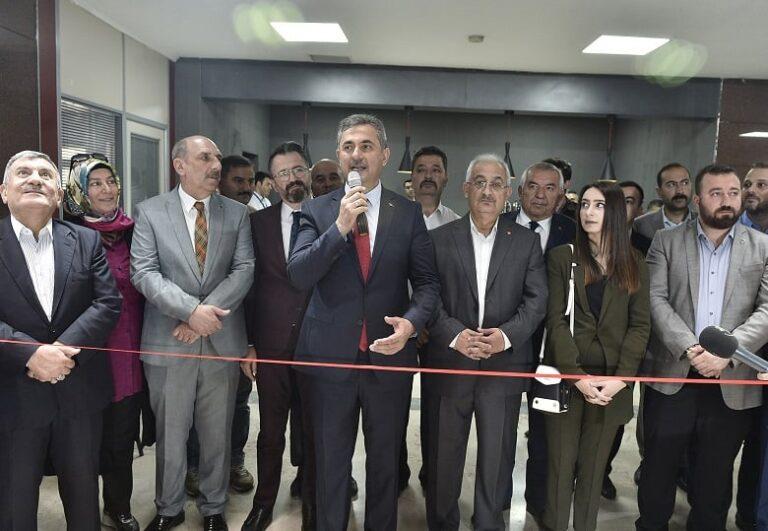 Mamak Belediyesi Kafeteryası Açıldı
