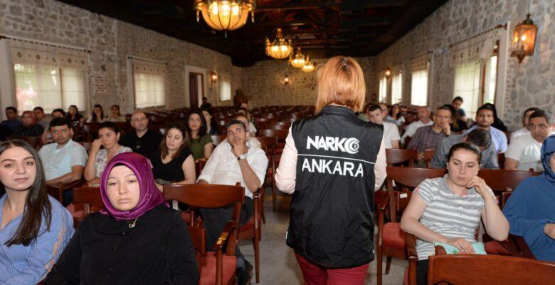 Altındağ'da Narko Eğitim