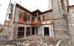 Hamamarkasında Ankara Evleri Restore Ediliyor