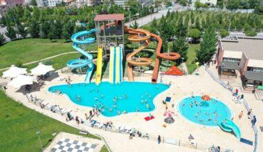 Ankara'da tatil Su Parkı'nda güzel