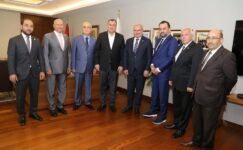 ATO Başkanı Gürsel Baran Taşdelen'i Ziyaret Etti