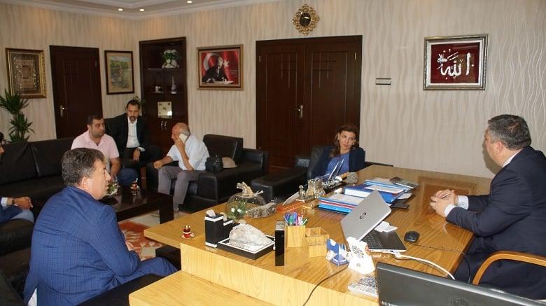 Satranç Federasyonu Başkanı Gülkız Tulay, Başkan Demirbaş'ı Ziyaret Etti