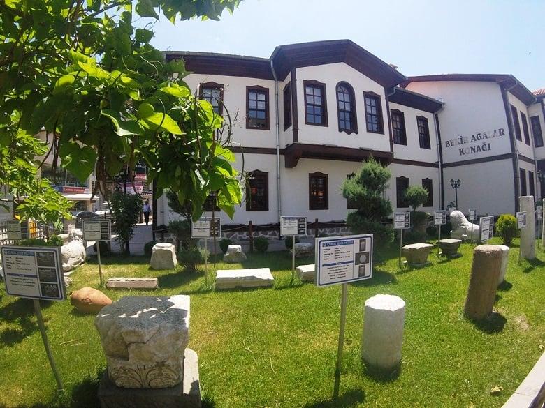 Çubuk Şehir Müzesi Ziyaretçilerini Bekliyor