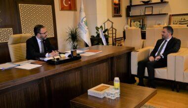 Bakan Kasapoğlu'ndan Çetin'e Ziyaret