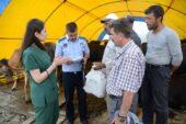 Pursaklar'da Kurban Satış ve Kesim Alanında Denetleme