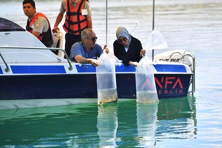Başkent'te Balıklar Artsın Bereket Çoğalsın