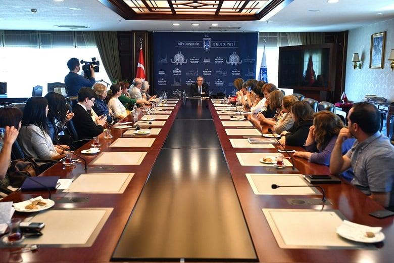 Ankara İçin Büyükşehir ve Akademisyenler El Ele Verecek