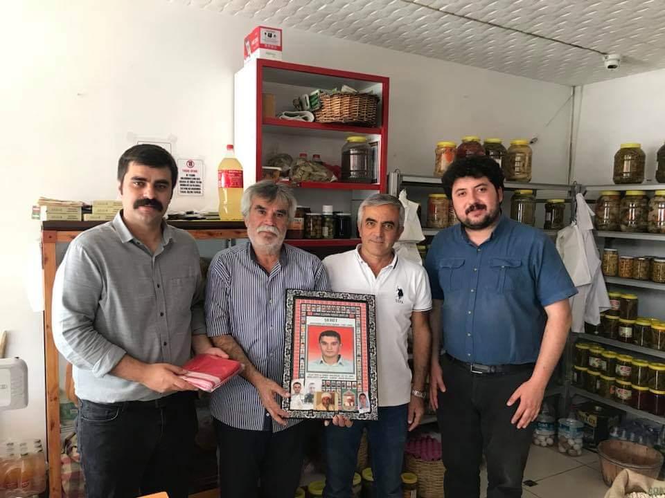 CHP'lilerden Şehit Ailelerine Ziyaret